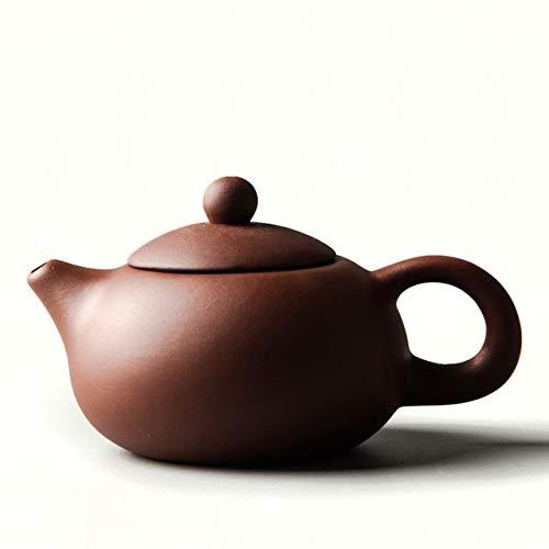 YWSZJ Yixing Purple Clay Xi Shi Tea Pot Hand Made Pot Dahongpao Mud Chinese Tea Set Teapots Ball Hole Filter (Color : 2)