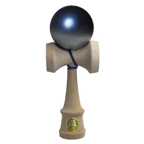 Japan Kendama Association Certified Competition Kendama Odori Premium Series Premium Blue & Silver
