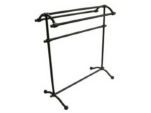 Check Price Kingston Br CC2295 Pedestal Towel Rack with ... on