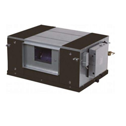 Unidad interior climatizadora, sistema VRF semi-industrial encastrado, modelo MI 90T1 / DHN1 B, 69 x 95,2 x 95,2 centímetros, color negro (referencia: MI 90T1/DHN1 B)