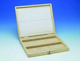 木製プレパラートボックス 100枚用