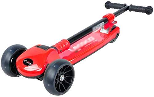 Bck Outdoor Sports Scooter Tretroller 85-130Cm Höhe Mini Folding Kleinkind Tretroller 2-5Yr Boy/Girl Erwachsener...