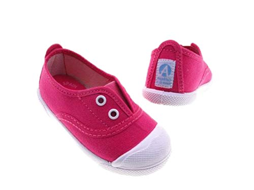 Zapatillas de Lona con Puntera Reforzada para Niños y Niñas, Angelitos mod.124,...