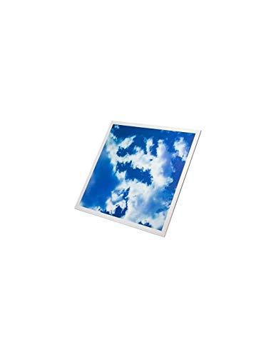 Panneau LED 3D Ciel 45W 60x60cm - Blanc du Jour 6000K