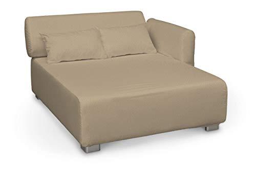 Dekoria Mysinge Sesselbezug Husse passend für IKEA Modell Mysinge beige-Creme