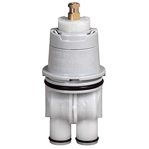 RP46074 Universal Valve Cartridge Repair Assembly - For Delta Tub/Shower Valves 13/14 Series,Single Function Temperature Control Valve Cartridge Repair Kit - White