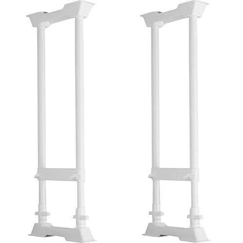 アイリスオーヤマ 家具転倒防止伸縮棒 L 高さ70-120cm ホワイト SP-70W