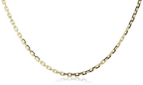 Amor Jewelry Unisex-Halskette 8 Karat 333 Gelbgold 74421