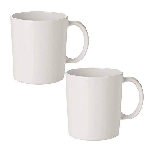 mikken Kaffeebecher, Kunststoff, Weiß