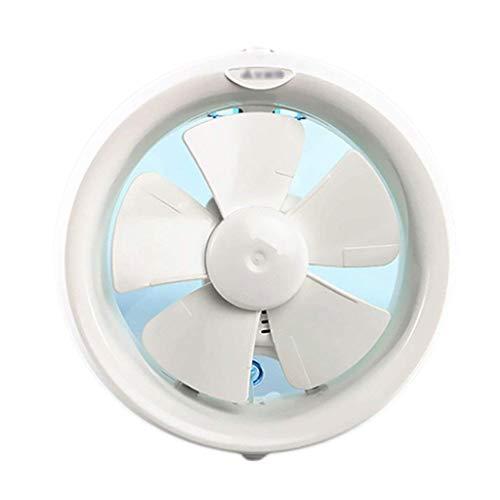 LANDUA Rund Bathroo mexhaust Fan, Energiespar-Technologie, Leiser Betrieb, Leicht Ventilator Mute Startseite