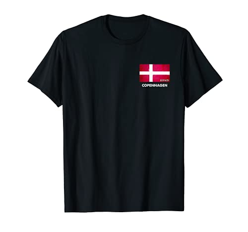 Kopenhagen Dänemark Fahnentrikot | Kopenhagen T-Shirt
