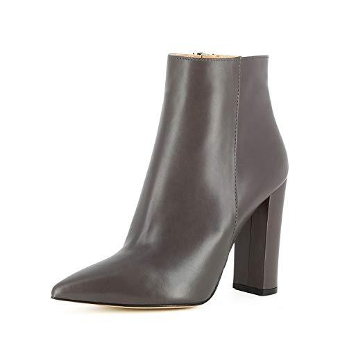 Evita Shoes Alina Damen Stiefelette Glattleder Fango 40