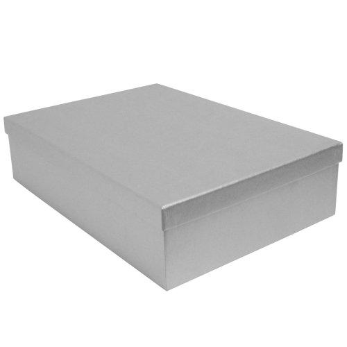 Paperchase zilveren Kraft Shirt geschenkdoos