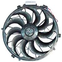 TYC 611230 Purchase BMW 3 Series Replacement 100% quality warranty Condenser Cooling Fan Assemb