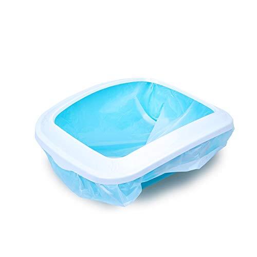 Nobleza 3 Bolsas de Bolsas sanitarias, Que se Pueden Colocar en la Caja de Arena para Gatos para un fácil reemplazo de la Arena para Gatos M 50 * 40CM