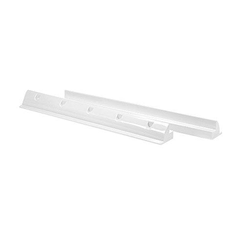 Offgridtec 55cm Spoiler Solar Dachbefestigung Heavy Duty weiß, 1 Stück, 006555