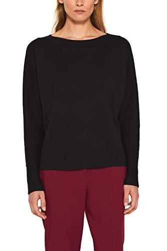 Esprit 109eo1i001 suéter, Negro (Black 001), X-Small para Mujer