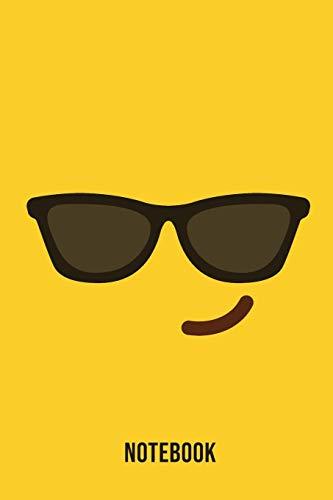 Notebook: Confident Emoji Emoticons Notebook,: Emoticons Notebook For Kids, social media emoticons Journal, Emoticon Face Themed Birthday, Emoji ... Emoji Stuff, 120 Pages, 6x9, Matte Cover.