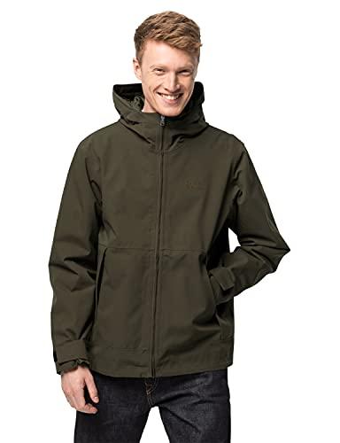 Jack Wolfskin Cold Canyon Jacket M Chaqueta, Verde bonsái, XXL para Hombre
