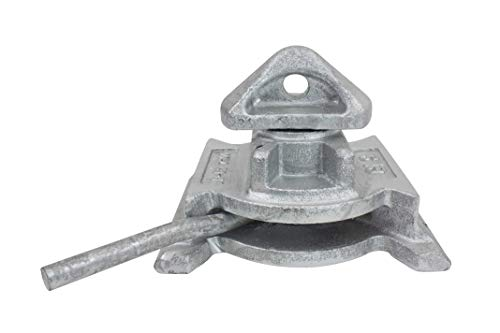 Sea Rail Shipping Container Manual Base Lock Dovetail