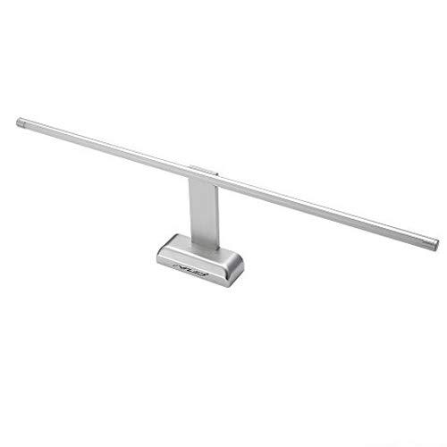 FVTLED 9W 48 LED 2835 SMD Lámpara de Pared para Baño Espejo Aplique Luz Acero Inoxidable(Blanca Frío)