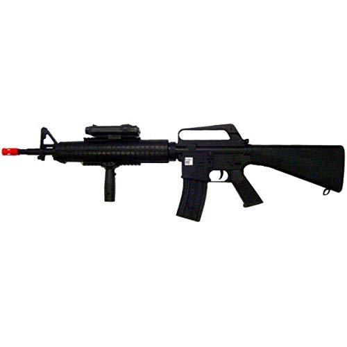 W E L L Softair 0.9 Joule Fucile A Molla (M16A3)