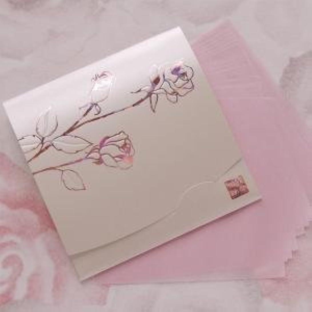 シマウマ同種のすばらしいです鎌倉四葩のあぶらとり紙 きらめき香りローズ 方形サイズ 20枚入