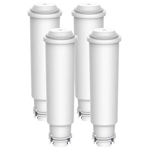 Maxblue Claris F088 TÜV SÜD Zertifiziert Kaffee Filter, Kompatibel mit Krups Claris F088 Melitta Pro Aqua, Passt Viele Modelle von AEG, Bosch, Siemens, Nivona, Melitta, Neff und Mehr (4)