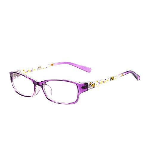 Fuyingda Kinder Optische Brillenfassungen Mädchen Jungen Myopie Brillen Vollrand Biegsamen Kind Brillengestell