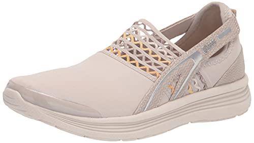Bzees Womens Sunny Sneaker Sand Yellow 7.5 M