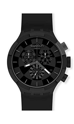 Orologio Swatch Big Bold Chrono SB02B400 CHECKPOINT BLACK