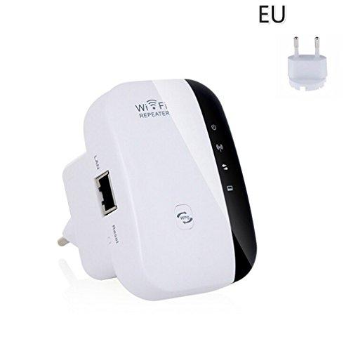 Cdrox El cifrado Wi-Fi Wireless-N Wi-Fi repetidor de Red Routers 300Mbps expansión de Rango de presión de la señal WiFi Extender Ap WPS
