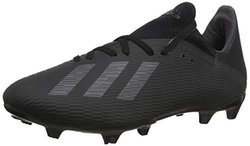 adidas X 19.3 FG, Zapatillas de Fútbol para Hombre, Negro (Core Black/Utility Black/Silver Met. Core Black/Utility Black/Silver Met.), 44 EU