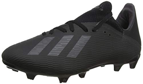 adidas Herren X 19.3 Fg Fußballschuhe, Schwarz (Core Black/Utility Black/Silver Met. Core Black/Utility Black/Silver Met.), 45 1/3 EU