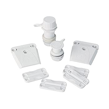 Igloo Parts Kit for Ice Chests White 8.5  x 2  x 9