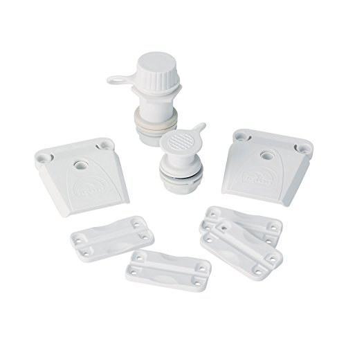 """Igloo Parts Kit for Ice Chests, White, 8.5"""" x 2"""" x 9"""""""