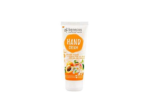 Benecos Crème Mains Abricot et Fleur de Sureau 75 ml