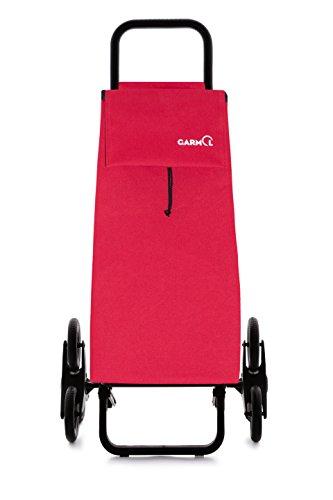 Garmol 14G3X3 PO C5 Carro Compra, Tela, Rojo, 45L