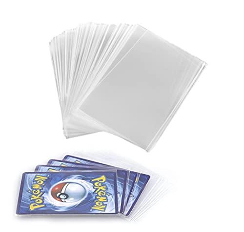 Gradesafe 200 Standard Card Penny Sleeves for Toploader Clear Deck...