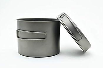 TOAKS Titanium 1300ml Pot with Pan by TOAKS