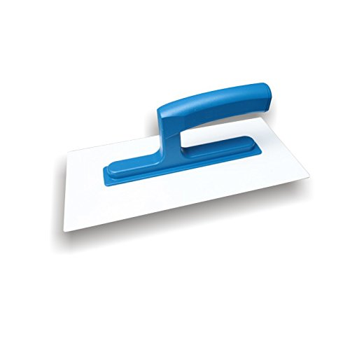 DEWEPRO® Kunststoff Glättekelle - Glätter - Reibebrett - 270x130mm (PS)