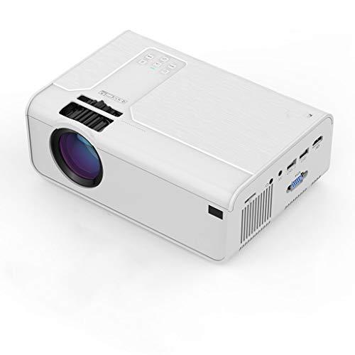 Release Mini proyector HD P60 3600 lúmenes 720P LED Movie Video Beamer Soporte de Cine en casa 1080P Opcional Android WiFi Bluetooth (Color : P60 X96Q TV Box)
