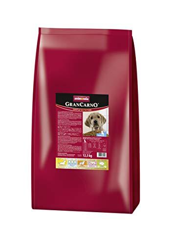 animonda GranCarno Hundefutter Junior, Trockenfutter für Hunde im Wachstum, 12,5 kg