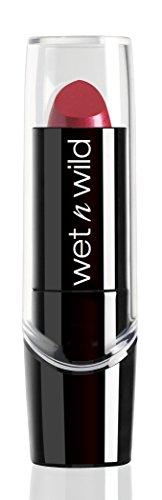Wet n Wild – Silk Finish Lipstick- Pflegender Lippenstift mit Aloe Vera und Vitamine A und E, Just Garnet, 1 Stück, 3,6g