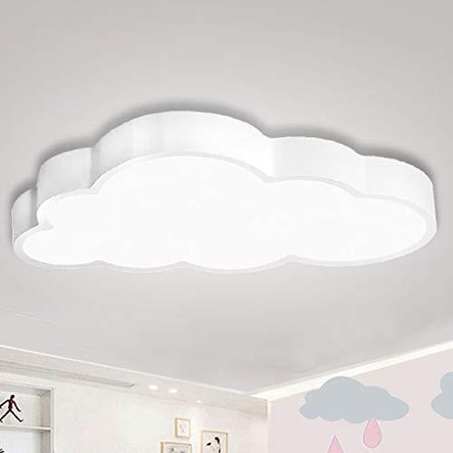 BFYLIN Regulable LED Lámpara Moderna Del Techo Lámpara De Techo Pasillo Salón Dormitorio De La Lámpara Ahorro De Cocina Ahorro De Energía Luz (blanco-Nubes 64W)