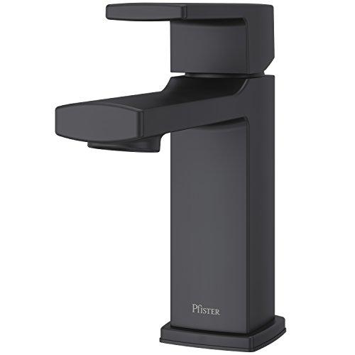 Pfister LG42-DA0B Deckard Single Control 4' Centerset Bathroom Faucet, Matte Black