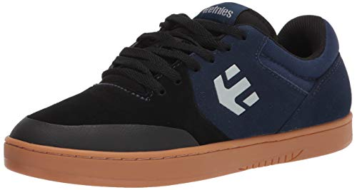 Etnies Marana Chaussures de skate basses pour homme, Noir (noir/gris/bleu), 44.5 EU