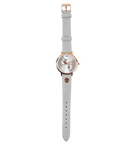 Rose Gold Plated Harry Potter Slytherin Crest Watch