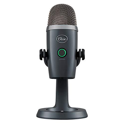 Blue Yeti Nano Premium USB Microphone - Shadow Grey (Renewed)