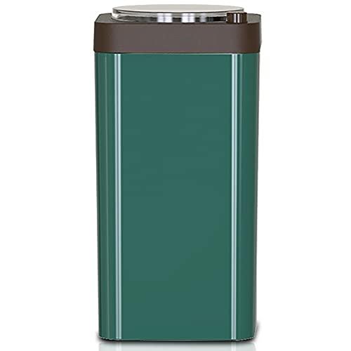 LESIXW Elektrische Kaffeemühle Kleine Haushaltsgeräte, Kleine Getreideschleifer Kaffeemühle,Grün